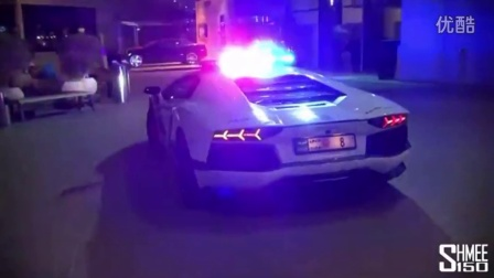 Dubai Police Supercars in Action Brabus B63S