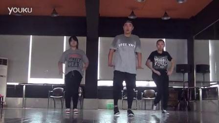 【欧吉舞蹈】武汉街舞培训-LA Style/Lyrical HipHop-OG舞团队员-筱妮|申泉|恬恬-20140810