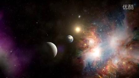 地球飞向太空 宇宙星空穿梭全高清视频素材