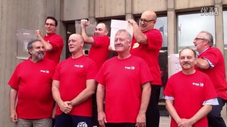 加拿大布鲁克大学冰桶挑战Brock University ALS Ice Bucket Challenge