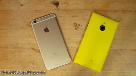 Nokia Lumia 1520 vs iPhone 6 Plus