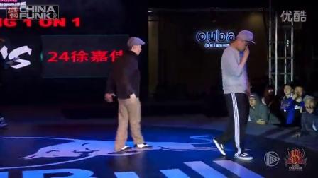 【欧吉舞蹈】Popping队员-李根(左)-红牛Hittop2013武汉站