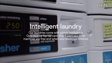 学生公寓洗衣房