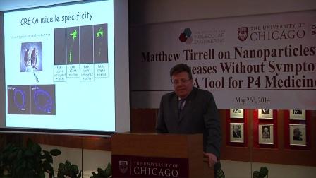 Matthew Tirrell 讨论瞄准无症状疾病的纳米颗粒