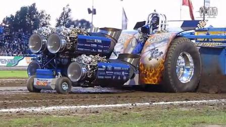 把四台飞机引擎改装到卡车上,结果。。。