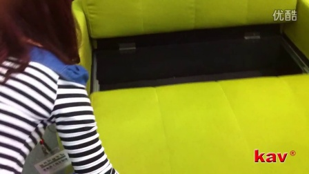 【凯威五金滑轨】重型钢珠滑轨在沙发床的表现