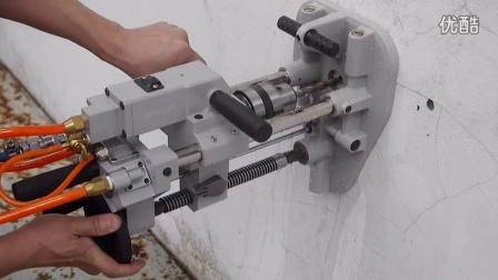 GPD-231 輕便型氣動鑽床機 (含真空吸盤固定座)
