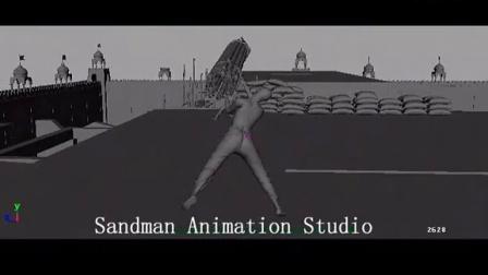 SANDMAN ANIMATION STUDIO - KIERON SEAMONS - KOCHADAIYAAN 03