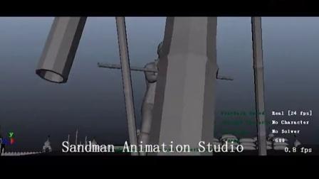 SANDMAN ANIMATION STUDIO - KIERON SEAMONS - KOCHADAIYAAN 04