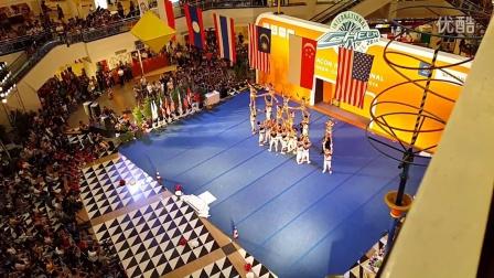 泰国博仁大学啦啦队-卫冕2014国际啦啦队挑战赛Team DPU Thailand