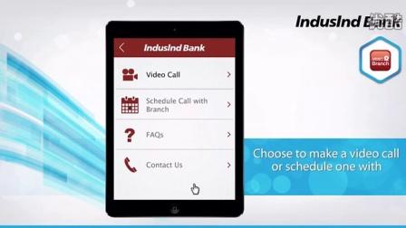 Induslnd 银行启用Vidyo视频技术为其客户提供视频银行服务
