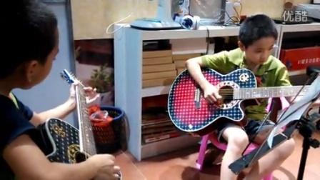 吉他第一把位