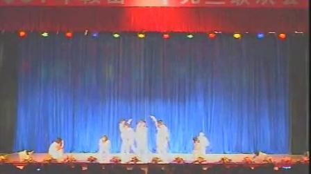 鞍山一中2007年新年联欢会2008届 08级1