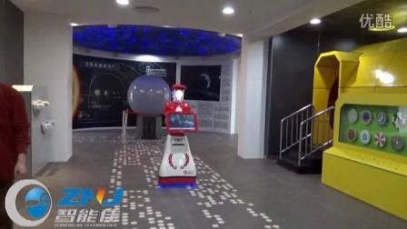 北京智能佳安娜迎宾机器人对话与复位演示