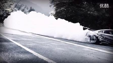 视频体验  1200马力GT-R山路漂移大片