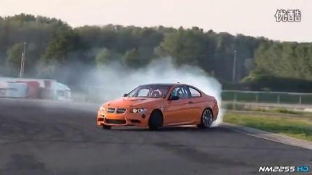 宝马史上最牛无间断漂移!BMW M3 E92_