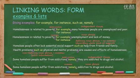 英语写作 English Writing Lesson 10: Linking Words