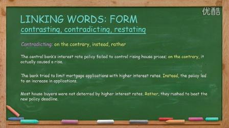 英语写作 English Writing Lesson 11: Contrasting