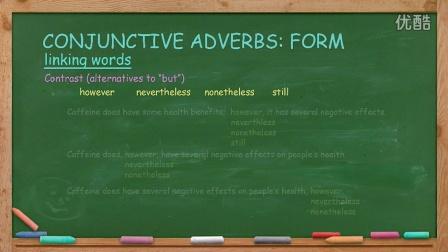 英语写作 English Writing Lesson 9: Conjunctive Adverbs