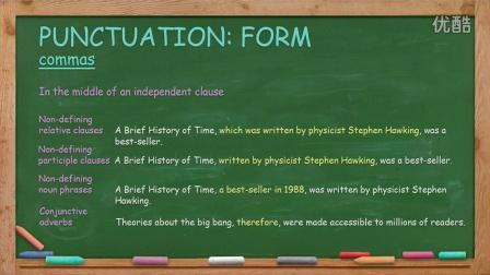 英语写作Engllish Writing Lesson 14: Punctuation