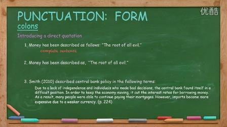 英语写作 English Writing Lesson 13: Punctuation