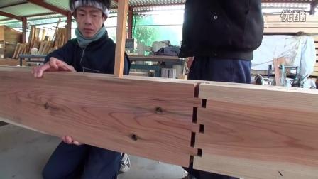 把两块木板完美拼在了一起,看完好满足!