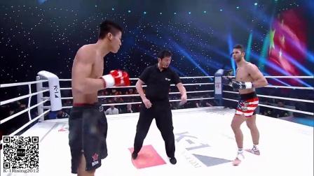 2015K-1王者之战之中美对抗赛 梁灵宇VS安德烈