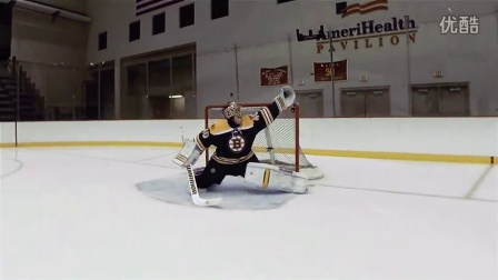 用GoPro拍下冰球明星训练时的精彩瞬间