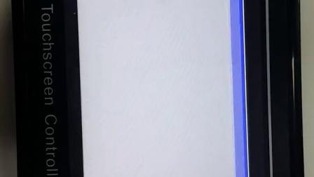 7寸触摸屏人机界面智能变频恒压供水控制器