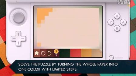 3DS eShop美版  KAMI (纸) 介绍影片