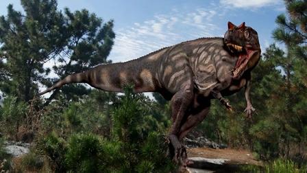 百科知识恐龙第三讲:角鼻龙