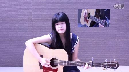 女生吉他弹唱邓紫棋《多远都要在一起》(张一清)