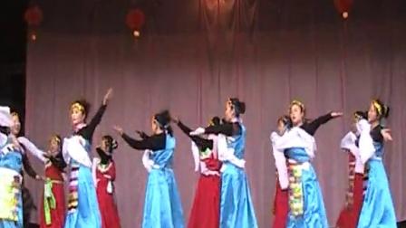 2011年甘肃省陇南市西和县何坝镇何坝村春节联欢晚会 上