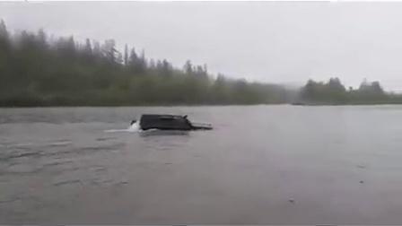 在俄罗斯只要有车,就不需要船