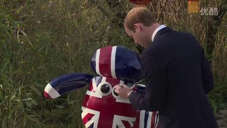 英国剑桥公爵在京正式启动2015中英文化交流年英国文化季