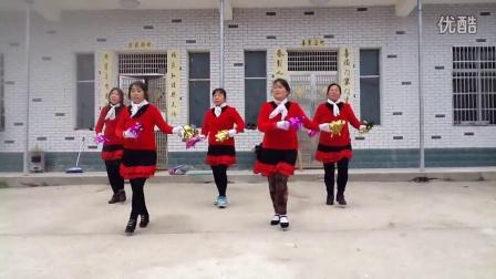 武汉新洲区邾城街刘六村大屋咀广场舞-疯狂爱爱爱