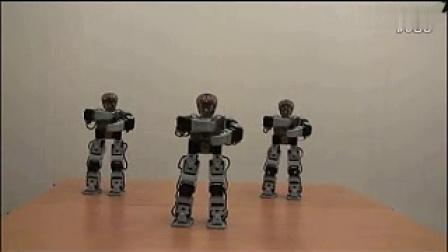 智能佳 百变创意机器人舞蹈表演1