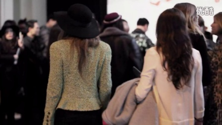 SHIATZY CHEN 夏姿‧陈 2015-16 秋冬系列巴黎时装秀 后台花絮