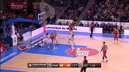 2014-15.欧洲篮球冠军联赛.16强.第八轮.皇家马德里-红星