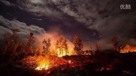 可能是你见过的拍摄最美的火山短片