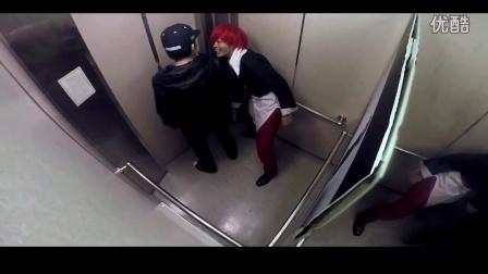 【笑料百出】59期 屌丝男电梯遭遇美女露大腿