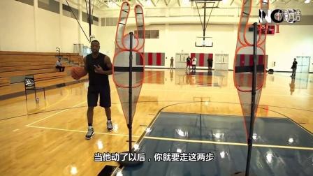 N*A球星篮球训练【第二课】韦德演示欧洲步过人绝技