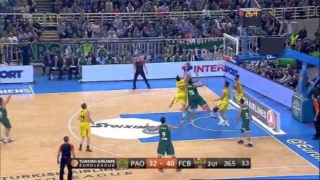 2014-15.欧洲篮球冠军联赛.16强.第九轮.帕纳辛奈科斯-巴塞罗那