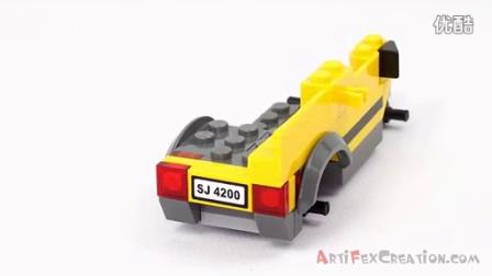 乐高情报站 Lego City MINING 4x4 set 4200 Animated Building Review