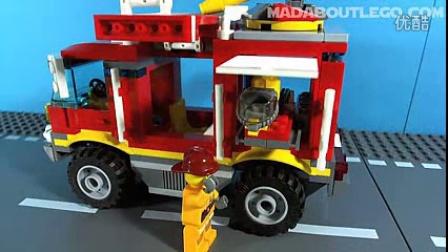 乐高情报站 LEGO CITY FIRE TRUCK 4208