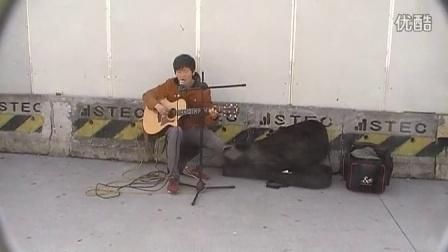 街头吉他#5蔡盛 吉他弹唱 原创《有些话未曾对你说》