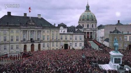 【丹麦女王75周岁庆典】 阿美琳堡宫换岗仪式 (缩时摄影)