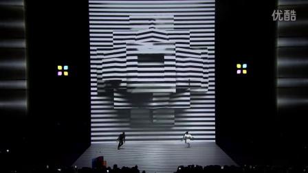 炫酷!迪拜光影舞蹈:Black & White