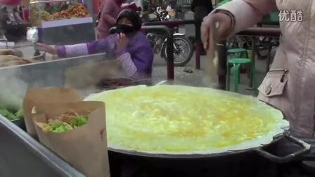 美国女子天津偷师 回国卖煎饼1个6美元