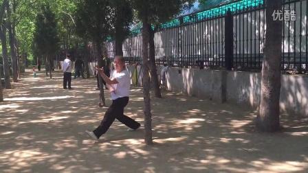 北京程式八卦掌传人奎恩凤老师